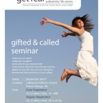 Gifted and Called Seminar Image