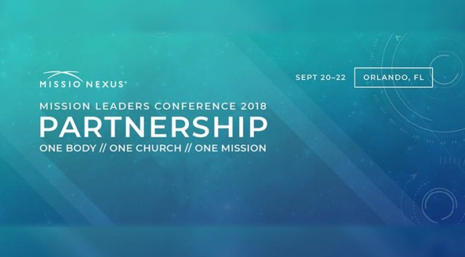 Missio-Nexus Mission Leaders Conference 2018 Image